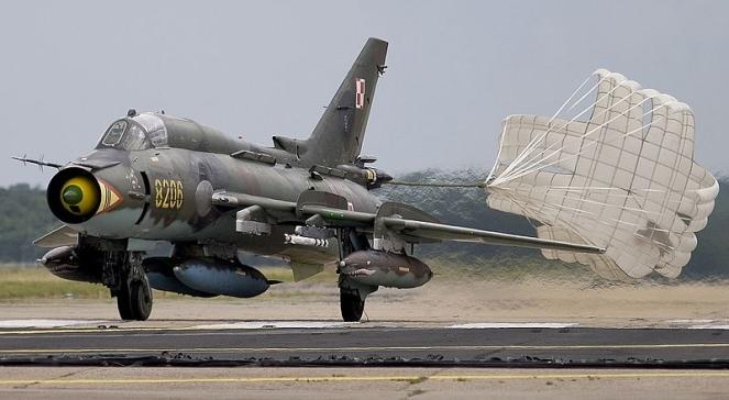 Su-22 w barwach polskich sił powietrznych
