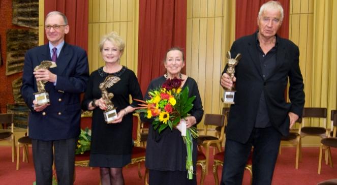Piotr Moss, Magdalena Zawadzka, Irena Jun i Janusz Głowacki.