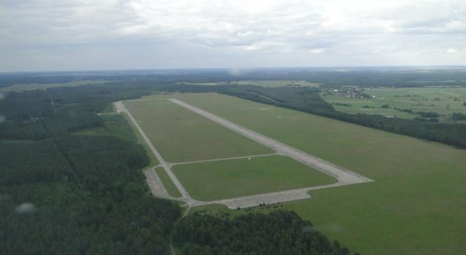 Lotnisko w Szymanach, niedaleko Kiejkut, gdzie miały lądować samoloty CIA z więźniami