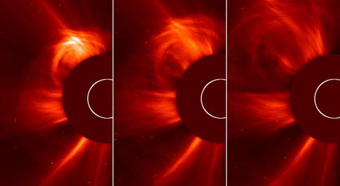 Wybuchy na Słońcu zarejestrowane 15 marca 2013