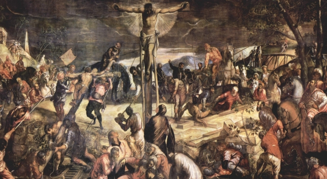 Ukrzyżowanie, Jacopo Tintoretto, 1565