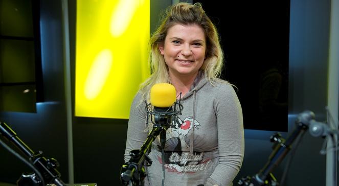 Magdalena Warszawska w studiu Czwórki