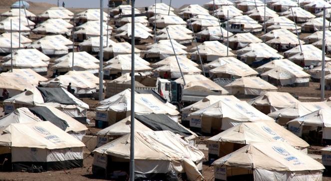 Na granicy turecko-irackiej powstał obóz dla Irakijczyków, którzy uciekli z kraju przed dżihadystami