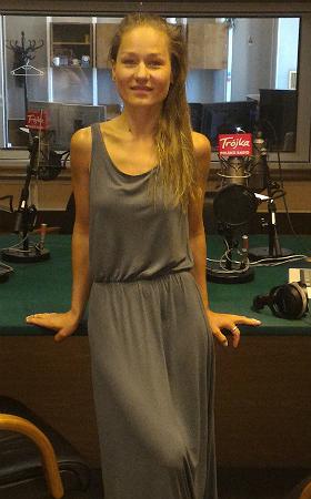 Marika w studiu Trójki, fot. PR