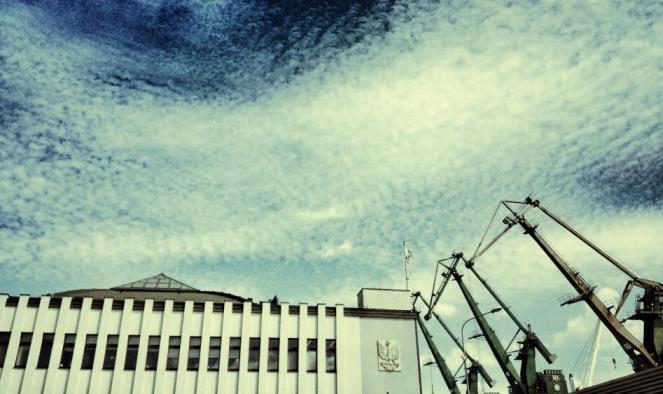 Budynek Muzeum Emigracji w Gdyni.  fot. Michał Nogaś