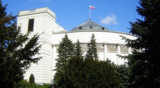 Sejm. Widok ogólny od strony ul. Wiejskiej