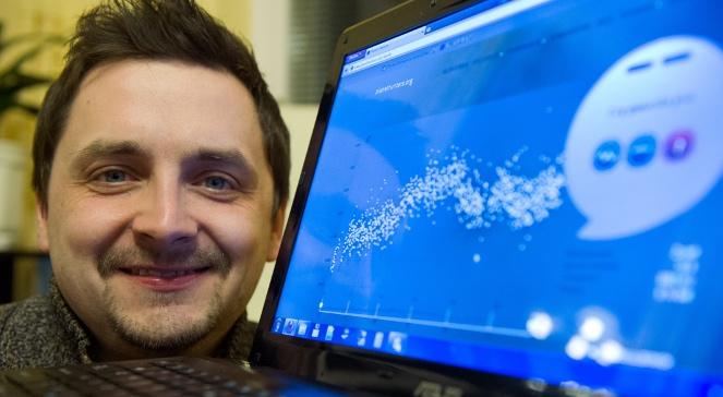 Odkrywca planety PH2b Rafał Herszkowicz