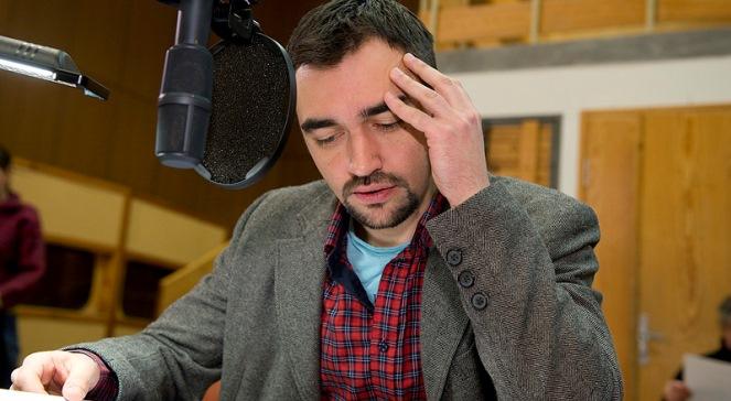 Marcin Przybylski w roli Juliana Tuwima