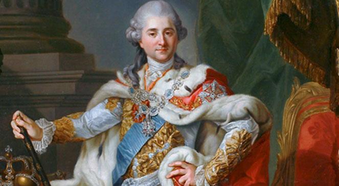 Stanisław August Poniatowski w stroju koronacyjnym, obraz Marcello Bacciarellego z 1768 roku