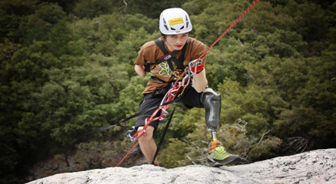 Jan Mela podczas wyprawy - El Capitan (28.09-10.10.2010)