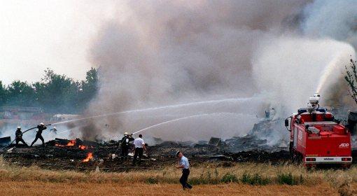 Akcja ratunkowa po wypadku Concorda