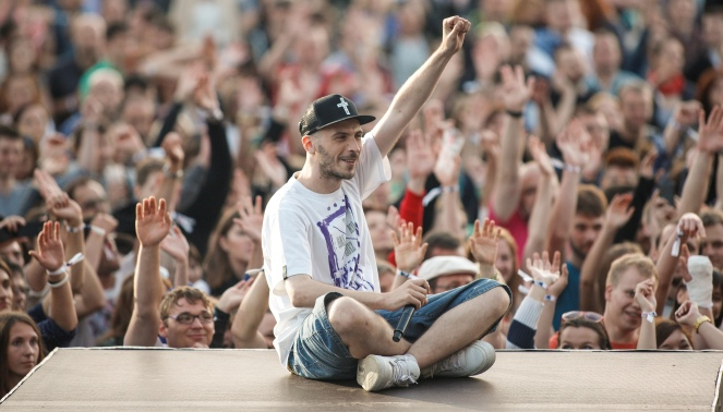 O.S.T.R podczas koncertu Męskiego Grania w Chorzowie