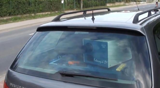 Fotoradar ukryty w samochodzie