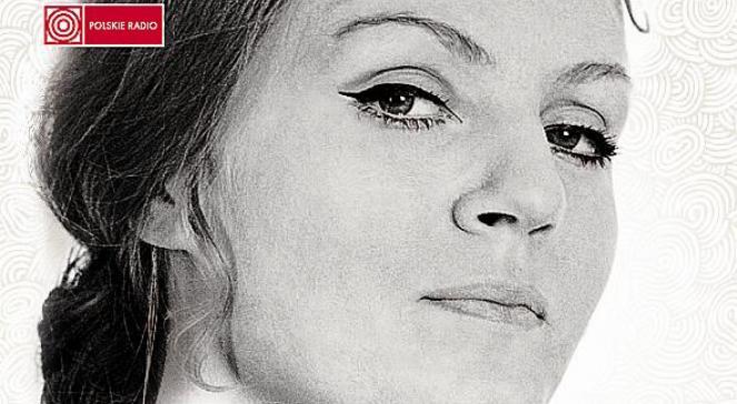Anna German. Fragment okładki płyty Z Archiwum Polskiego Radia - Anna German