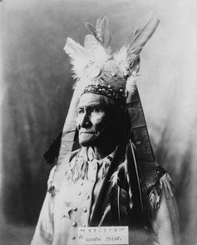 Geronimo u kresu życia, źr. Wikimedia Commons/dp