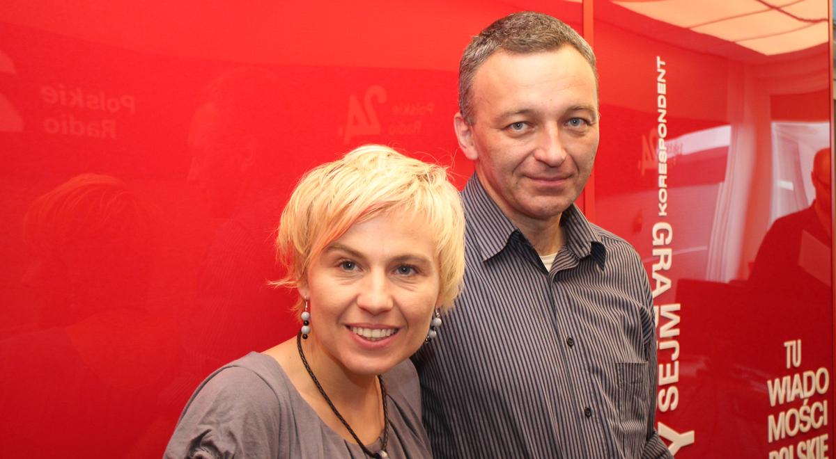Katarzyna Panejko-Wanat i Wojciech Wanat, terapeuci uzależnień; Foto: PR24/JW