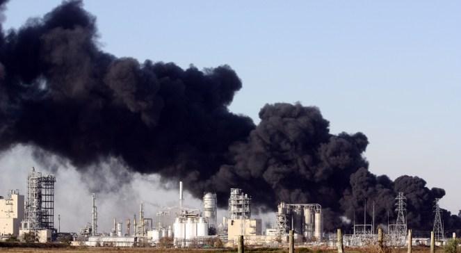 Eksplozja rurociągu. Płomienie sięgały 15 metrów