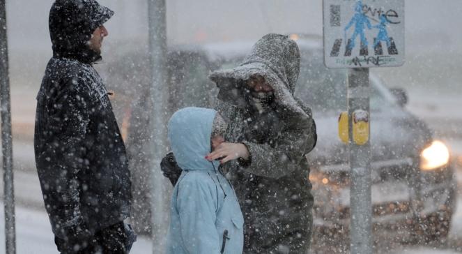 Pogoda: marznące opady deszczu ze śniegiem i gołoledź