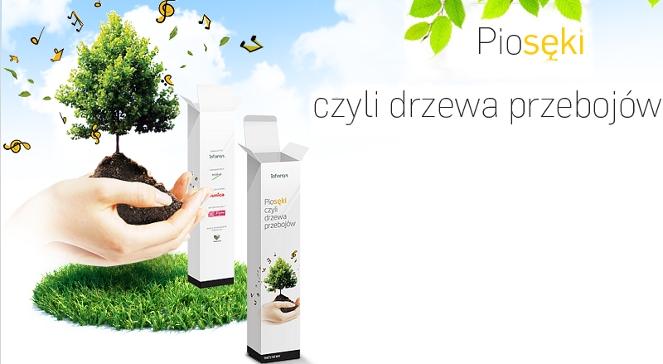 Baner akcji PioSęki, czyli drzewa przebojów