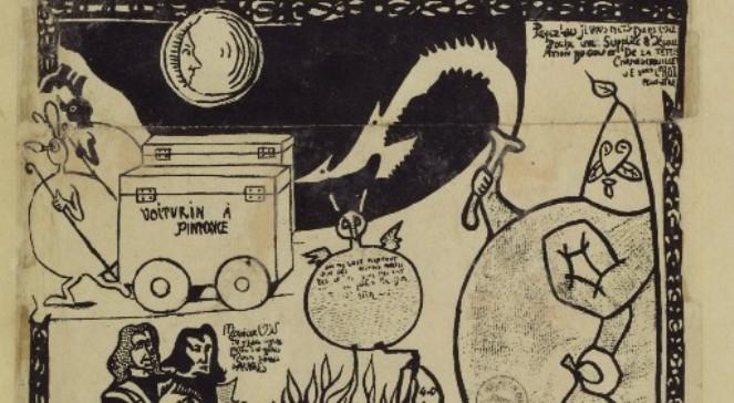 Ubu król - fragment okładki pierwszego wydania