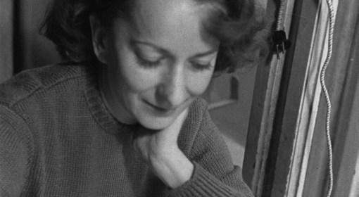 Wisława Szymborska, zdjęcie z 1954 roku.