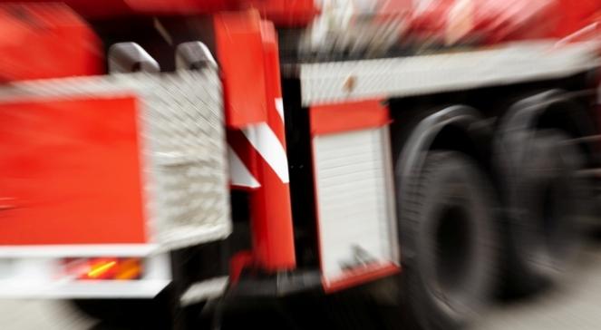 Pożar w Parlezie Wielkiej. Pięć osób w szpitalu