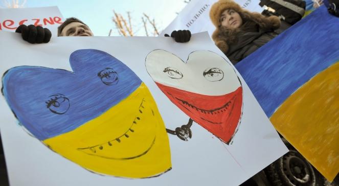 Polacy solidaryzują się z protestującymi na kijowskim Euromajdanie