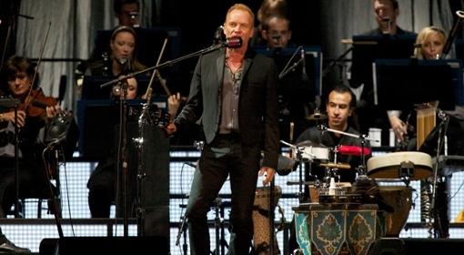 Sting - koncert w Poznaniu