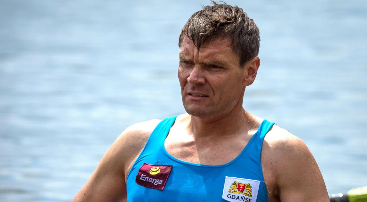 Na zdjęciu archiwalnym z dnia 30.06.2013. wioślarz, czterokrotny mistrz świata, mistrz olimpijski z Igrzysk Olimpijskich w Pekinie Adam Korol.