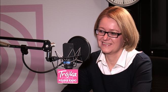 Agnieszka Kozłowska-Rajewicz w Salonie politycznym Trójki,