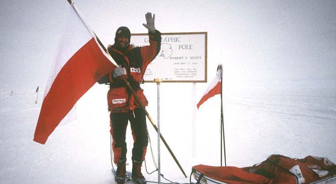 Wyprawa Marka Kamińskiego na biegun południowy. PAPCAF