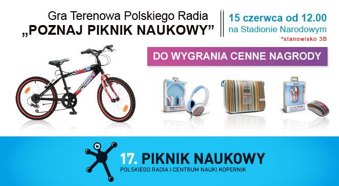 """Gra Terenowa Polskiego Radia """"Poznaj Piknik Naukowy"""""""