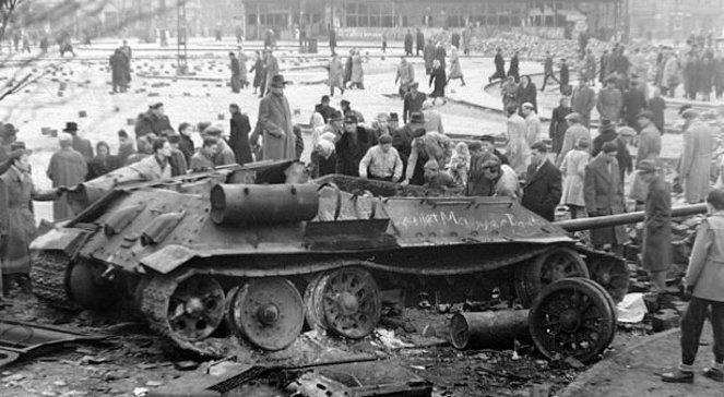 Węgry 1956. Inspiracją był Poznański Czerwiec