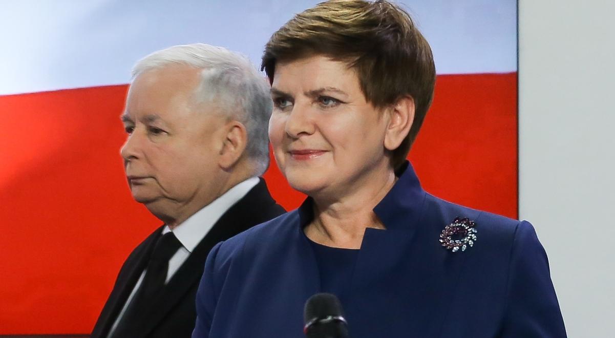 Image result for jarosław kaczyński beata szydło